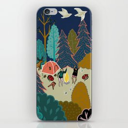 Welcome to Our Place in the Woods iPhone Skin