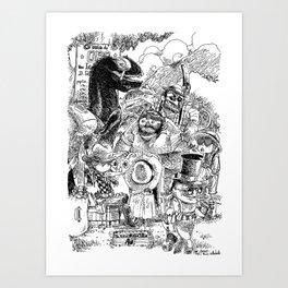 Les Chercheurs d'Or / The Gold Diggers Art Print
