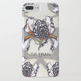 T.F TRAN MULTICOLOUR BUTTERFLY IRIS iPhone Case