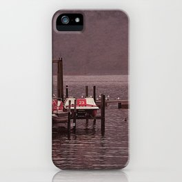 Lugano Vintage iPhone Case