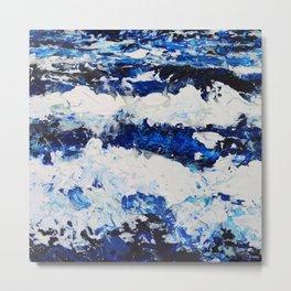 Waves II Metal Print