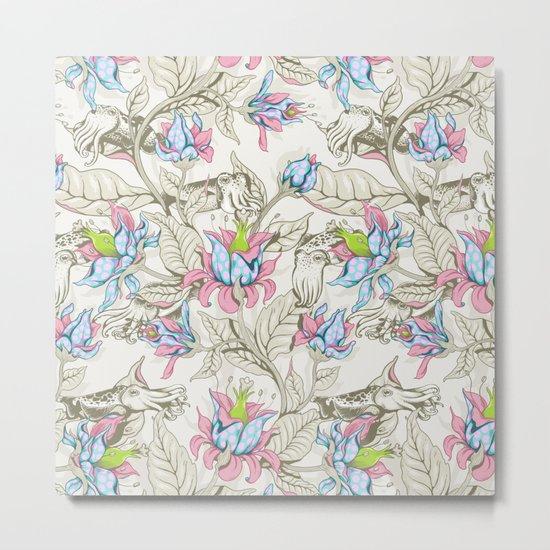 The Sea Garden - pastel Metal Print