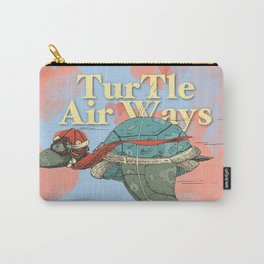 Turtle Air Ways, The flying turtle! Carry-All Pouch