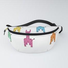 Giraffe Rainbow Fanny Pack