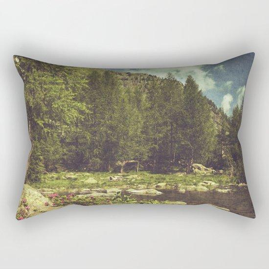 Alpine Idyll Rectangular Pillow