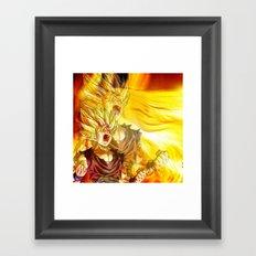 gohan Framed Art Print