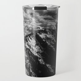 Washington Cascade Mountain Ariel View Travel Mug