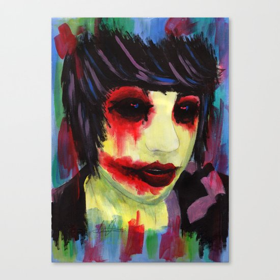 Infectious Canvas Print