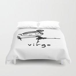 virgo dancey-pants Duvet Cover