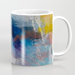 Large Contemporary Abstract Painting Coffee Mug
