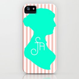 It Stands for Jane Austen, Obviously iPhone Case
