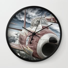 ASCUA aerobatic team Wall Clock