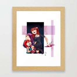 Goth Girls Framed Art Print