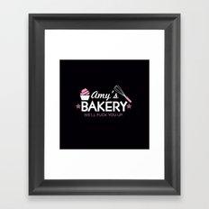 Amy's Bakery Framed Art Print