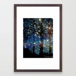 Fairy Night Framed Art Print