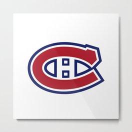 Montreal Canadien Logo Metal Print