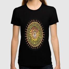 Lion Celtic Knot Mandala T-shirt