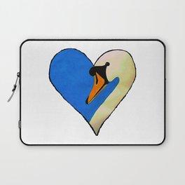 Swan Heart Laptop Sleeve