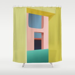 Entrance to Tranquility Shower Curtain