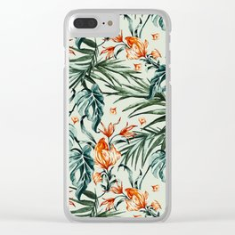 Exotic flower nature-07 Clear iPhone Case