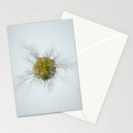 Memories of green Stationery Cards