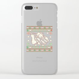 Electrician - Merry Christmas Clear iPhone Case