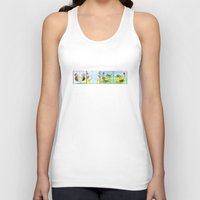 turtles Tank Tops featuring Turtles by Bakal Evgeny
