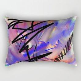 Abstract Urban Art Rectangular Pillow