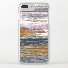 Stripes abstract Clear iPhone Case