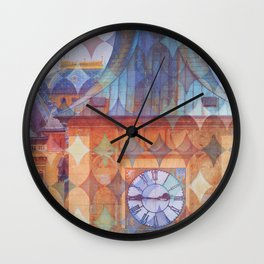 Quarter to Three Wall Clock