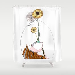 Invest Into Joy Shower Curtain