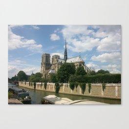 Sur la Seine Canvas Print