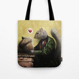 Mr. Squirrel Loves His Acorn! Tote Bag