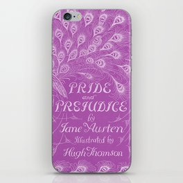 Pride and Prejudice - Plum iPhone Skin