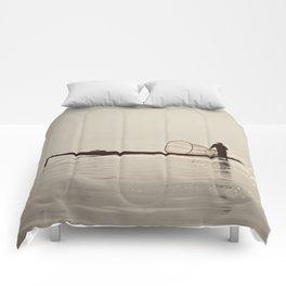 Inle Lake Myanmar Comforters