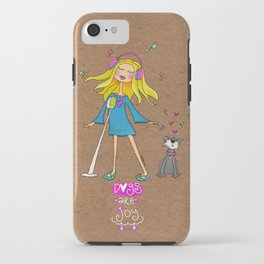 Dogs Are Joy ❤️ iPhone Case