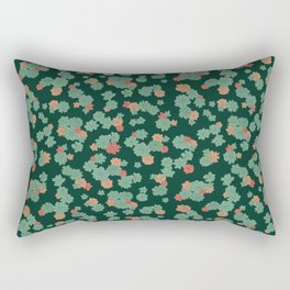 Succulents - Small Rectangular Pillow