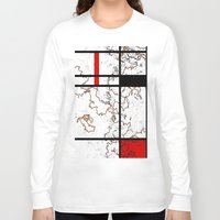 maps Long Sleeve T-shirts featuring MIX MAPS by MehrFarbeimLeben