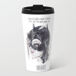 catwoman Travel Mug
