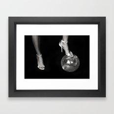 Disco Lies Framed Art Print
