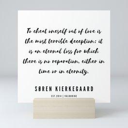 7      Søren Kierkegaard Quotes   190523 Mini Art Print
