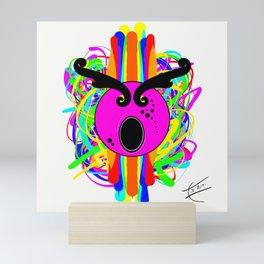 The Screech Owl Mini Art Print