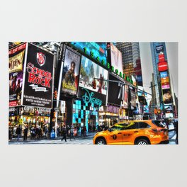 Times Square NY Rug
