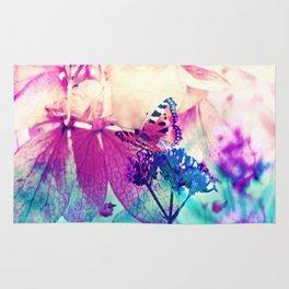 Butterfly in Wonderworld 2 Rug