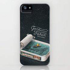 Gone Fishin' iPhone (5, 5s) Slim Case