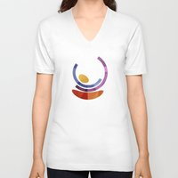 geo V-neck T-shirts featuring Geo by Losal Jsk