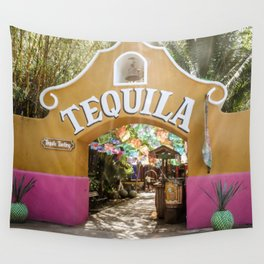 Tequila Tasting Wall Tapestry