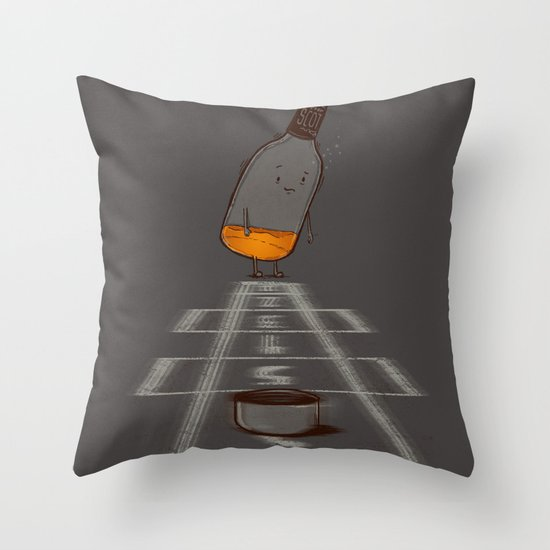 Hop Scotch Throw Pillow