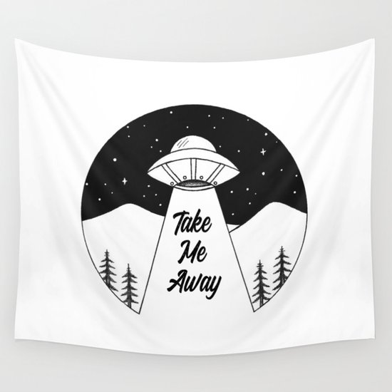 'Take Me Away' UFO by catherinebuggins