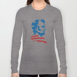 American Abe Long Sleeve T-shirt